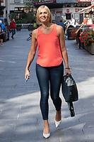 LONDON, ENGLAND - SEPTEMBER 9: Jenni Falconer seen leaving Global Studios on September 9, 2020 in London, England.<br /> CAP/JOR<br /> ©JOR/Capital Pictures