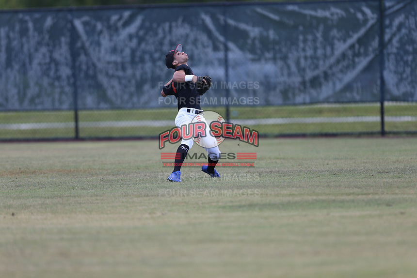 Abdiel Ortiz (60) of Colegio Valvanera High School in Coamo, Coamo during the Under Armour Baseball Factory National Showcase, Florida, presented by Baseball Factory on June 13, 2018 the Joe DiMaggio Sports Complex in Clearwater, Florida.  (Nathan Ray/Four Seam Images)