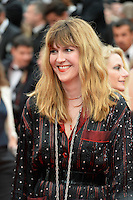 """FRA: """"THE BFG"""" Red Carpet- The 69th Annual Cannes Film Festival - Daphne Burki, attend """"THE BFG"""". Red Carpet during The 69th Annual Cannes Film Festival on May 14, 2016 in Cannes, France."""