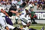 Baylor Bears wide receiver R.J. Sneed (19) in action during the game between the Baylor Bears and the TCU Horned Frogs at the Amon G. Carter Stadium in Fort Worth, Texas.