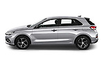 Car Driver side profile view of a 2020 Hyundai i30 Techno 5 Door Hatchback Side View