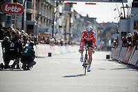 André Greipel (DEU/Lotto-Soudal) finishing his TT<br /> <br /> 3 Days of De Panne 2015<br /> stage 3b: De Panne-De Panne TT