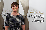 Pix: Shaun Flannery/shaunflanneryphotography.com<br /> <br /> COPYRIGHT PICTURE>>SHAUN FLANNERY>01302-570814>>07778315553>><br /> <br /> 4th April 2014.<br /> The Rotherham Athena Awards 2014.<br /> Mary Verity