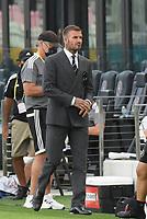 12th May 2021; Fort Lauderdale, Miami, USA;  David Beckham prior to the CF Montreal versus Inter Miami CF match on May 12, 2021 at DRV PNK Stadium.