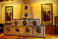 Deutschland, Sachsen-Anhalt, Barockkatheder im Lutherhaus in Wittenberg, Unesco-Weltkulturerbe