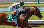 ARCADIA, CA  JULY 5:  #5 Gamine, ridden by John Velazquez, in the stretch of the Great Lady M Stakes (Grade ll) on July 5, 2021 at Los Alamitos Race Course in Los Alamitos, CA.  (Photo by Casey Pnillips/ Eclipse Sportswire/ CSM)