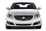 Car photography straight front view of a 2017 Buick Regal Sport-Touring 4 Door Sedan Front View