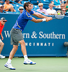 Marin Cilic of Croatia at the Western & Southern Open in Mason, OH on August 17, 2012.