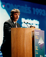 Jean Dore, Mayor of Montreal in 1993 photo by Pierre Roussel / Images Distribution