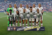 Saint Paul, MN - Tuesday September 03, 2019 : Portugal starting eleven prior to the USWNT 2019 Victory Tour match versus Portugal at Allianz Field, on September 03, 2019 in Saint Paul, Minnesota.