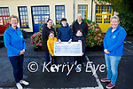 The Silles family from Tralee present the sum of €3,270 to the Kerry Hospice on Tuesday<br /> Front: Maura O'Sullivan and Andrea O'Donoghue. Back l to r: Tony, Amy, Oran, Luke and Paula Silles .