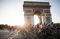 Jack Haig (AUS/Mitchelton-Scott) around the Arc de Triomphe on the Champs-Élysées<br /> <br /> Stage 21: Rambouillet to Paris(128km)<br /> 106th Tour de France 2019 (2.UWT)<br /> <br /> ©kramon