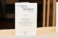 1st Annual Fashion Week Shabbat