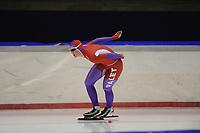 SCHAATSEN: HEERENVEEN: 05-10-2013, IJsstadion Thialf, Trainingwedstrijd, 5000m, Rixt Meijer, ©foto Martin de Jong