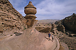 The Deir, built on the top of a mountain is one of the most fascinating monument of petra Petra. Jordan