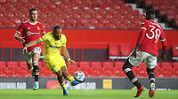 Bryan Mbeumo scores Brentford's second goal during Manchester United vs Brentford, Friendly Match Football at Old Trafford on 28th July 2021