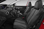 Front seat view of a 2018 Peugeot 3008 Allure 5 Door SUV front seat car photos
