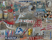 MODERN, MODERNO, paintings+++++GST joie de vivre,USLGGST150,#N#, EVERYDAY ,collages,puzzle,puzzles ,photos ,Graffitees