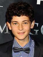 NEW YORK CITY, NY, USA - SEPTEMBER 15: David Mazouz arrives at the New York Series Premiere Of 'Gotham' held at the New York Public Library on September 15, 2014 in New York City, New York, United States. (Photo by Celebrity Monitor)