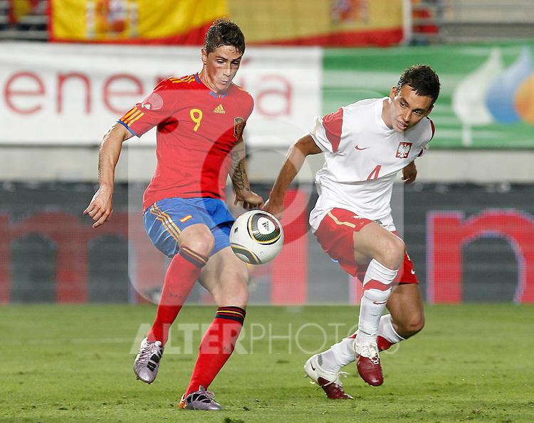 Spain's Fernando Torres during Friendly match.June, 8, 2010. (ALTERPHOTOS/Acero)