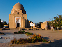 Ruhabad mausoleum  is said to contain a hair of Prophet Muhammad. Located at close proximity of Gur Emir mausoleum, Samarkand