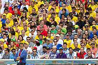 Russia manager Fabio Capello with fans