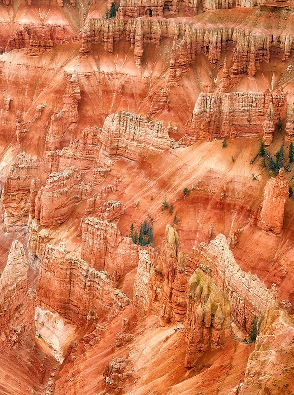 Canyon lands in Cedar Breaks National monument, Utah