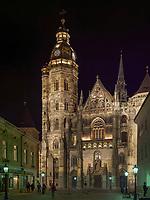 Gotischer St.-Elisabeth Dom- Dom svätej Alzbety in Kosice, Kosicky kraj, Slowakei, Europa<br /> Gothic Cathedral St. Elizabeth in Kosice, Kosicky krajj, Slovakia, Europe