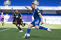 Freddie Sears of Ipswich Town tees up the ball which leads to the opening goal during Ipswich Town vs Wigan Athletic, Sky Bet EFL League 1 Football at Portman Road on 13th September 2020