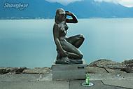 Image Ref: SWISS091<br /> Location: Montreaux, Switzerland<br /> Date of Shot: 25th June 2017