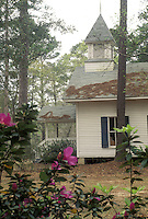 Country church north of Tallhassee Florida spring
