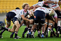 Joe Powell of the Melbourne Rebels passes the ball during the Super Rugby - Hurricanes v Rebels at Sky Stadium, Wellington, New Zealand on Friday 21 May 2021.<br /> Photo by Masanori Udagawa. <br /> www.photowellington.photoshelter.com
