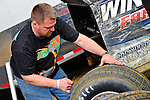 Feb 12, 2011; 5:45:43 PM; Gibsonton, FL., USA; The Lucas Oil Dirt Late Model Racing Series running The 35th annual Dart WinterNationals at East Bay Raceway Park.  Mandatory Credit: (thesportswire.net)