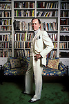 Tom Wolfe at home in 1988.