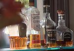 Liquor Bottles, Como Restaurant, Las Vegas, Nevada
