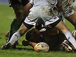 Xavier Rush.RaboDirect Pro12.Cardiff Blues v Connacht.Cardiff Arms Park..10.02.12.©Steve Pope