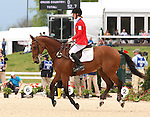 26 April 2010. Colombo and Selena O'Hanlon finish in 8th place during the Rolex Three Day Event in Lexington, KY.