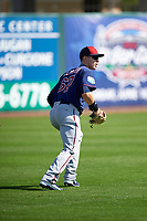 Minnesota Twins outfielder Max Kepler (67) during a Spring Training practice on March 1, 2016 at Hammond Stadium in Fort Myers, Florida.  (Mike Janes/Four Seam Images)
