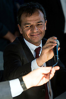 Stefano Fassina Sinistra Italiana <br /> Roma 03-05-2016 Citta' dell'Altra Economia <br /> Confronto pubblico tra alcuni dei candidati a sindaco di Roma. <br /> Public debate between Rome's mayor candidates . <br /> Foto Andrea Staccioli Insidefoto