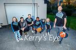 Tralee Warriors Hoop from Home fundraiser. <br /> Front: Fergal O'Sullivan. Back l to r: Ava O'Sullivan, Kian Sullivan, Daniel Jokubaitis, Matt Ashley and Fiadh O'Sullivan.