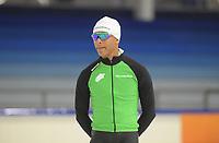 SCHAATSEN: HEERENVEEN: 01-11-2018, IJsstadion Thialf, Topsporttraining, ©foto Martin de Jong