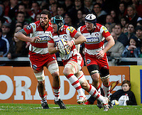 Photo: Richard Lane/Richard Lane Photography. Gloucester Rugby v London Wasps. Aviva Premiership. 26/12/2011. Gloucester's Alasdair Strokosch.