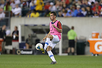 PHILADELPHIA, PENNSYLVANIA - JUNE 30: Daniel Lovitz #16 during the 2019 CONCACAF Gold Cup quarterfinal match between the United States and Curacao at Lincoln Financial Field on June 30, 2019 in Philadelphia, Pennsylvania.