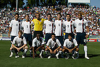 USA starting eleven team. The USA defeated China, 4-1, in an international friendly at Spartan Stadium, San Jose, CA on June 2, 2007.