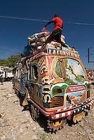 Dominikanische Republik, haitischer Markt bei Jimani an der Grenze zu Haiti