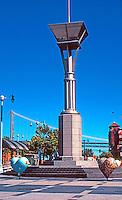 San Francisco:  Ferry Plaza, 2004. Light Standard.
