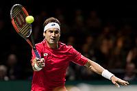 Rotterdam, Netherlands, 12 Februari, 2018, Ahoy, Tennis, ABNAMROWTT, David Ferrer (ESP)<br /> Photo:tennisimages.com