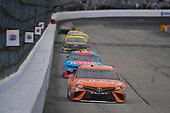 #19: Daniel Suarez, Joe Gibbs Racing, Toyota Camry ARRIS, #43: Darrell Wallace Jr., Richard Petty Motorsports, Chevrolet Camaro Petty's Garage / Medallion Bank