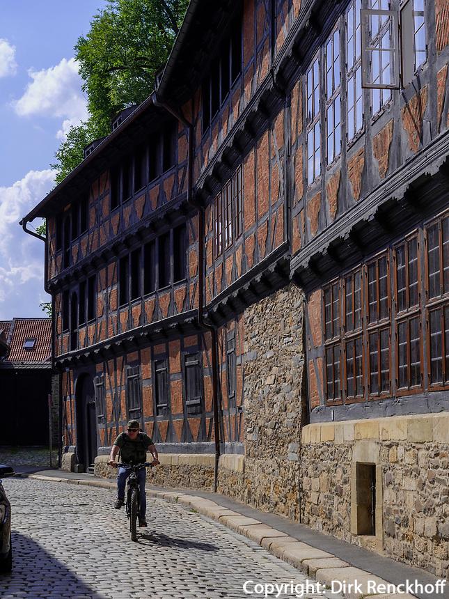Siemenshaus Schreiberstr. 12, Goslar, Niedersachsen, Deutschland, Europa, UNESCO-Weltkulturerbe<br /> Siemens house Schreiber St. 12, Goslar, Lower Saxony,, Germany, Europe, UNESCO Heritage Site