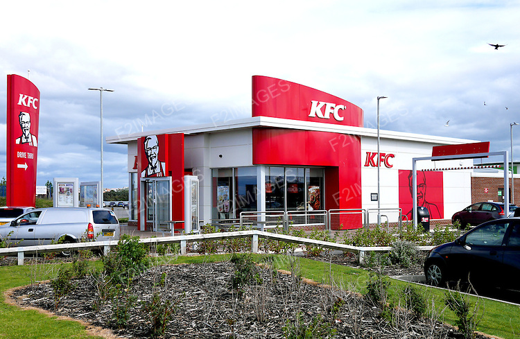 KFC Drive Through in Southport England.